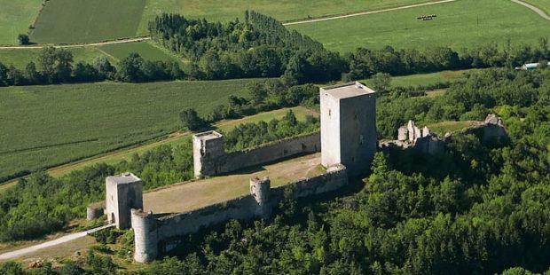 Château de Puivert vue générale