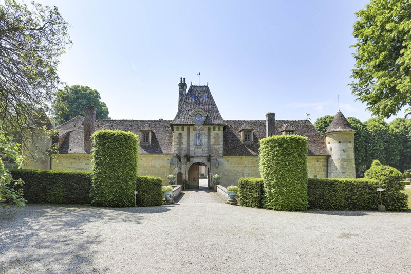 Entrée château de Boutemont
