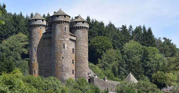 Le château d'Anjony