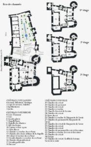 Plan château de tarascon