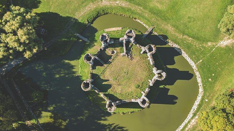 ruines du château de Commequiers
