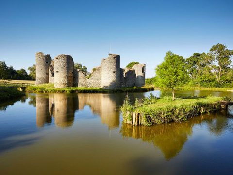 le château de Commequiers en Vendée