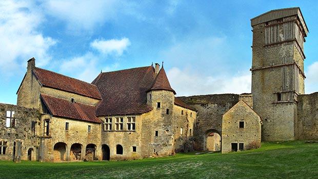 Château-d'Oricourt vue intérieure