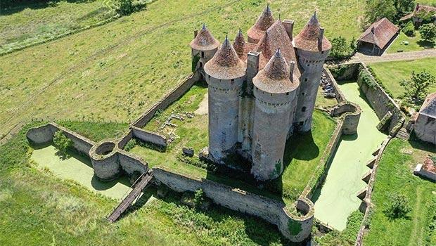 château-de-Sarzay-vue-générale