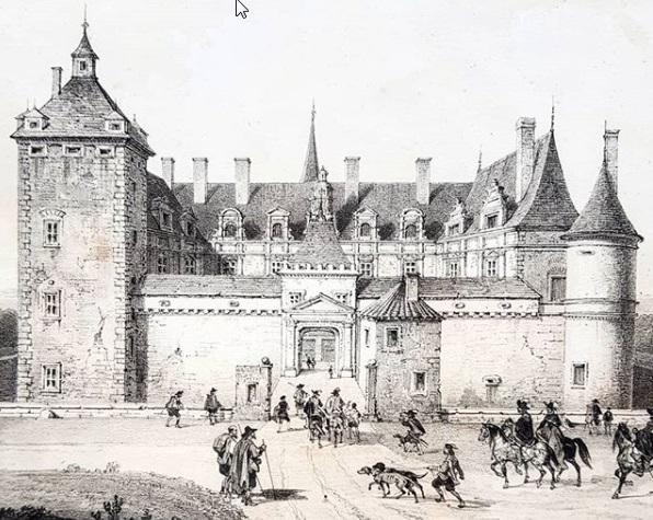 Château de Fléville illustration