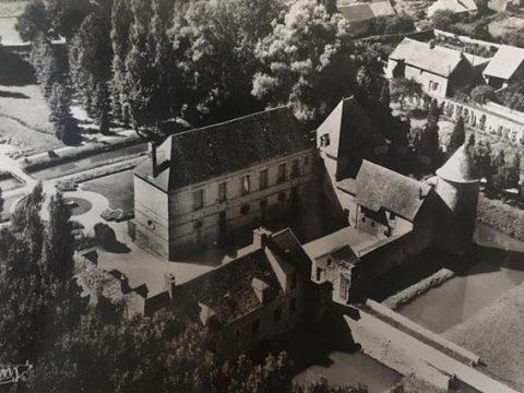 chateau de villeconin début XXe